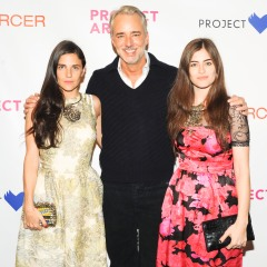 Phoebe Stephens, Michael Bastian, and Annette Stephens, photo by Neil Rasums/BFAnyc.com