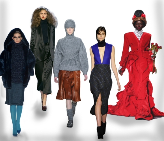 Academy of Art University AU, Marc by Marc Jacobs, Alexander Wang, Victoria Beckham and Thom Browne fw 2013 looks.